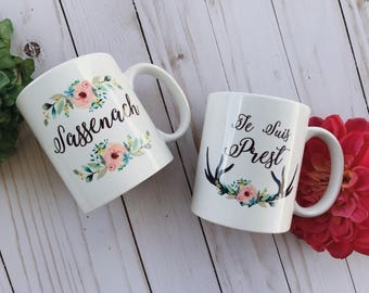 Je Suis Prest Coffee Mug, Outlander Inspired