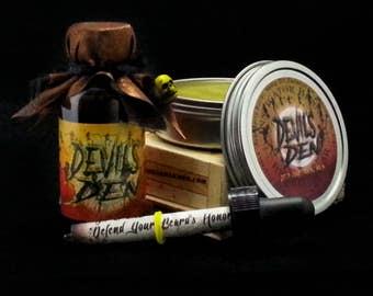 Devil's Den: Oil/Balm Combo