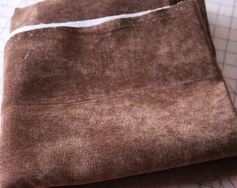 4 Upholstery Fabric Velvety Brown 4