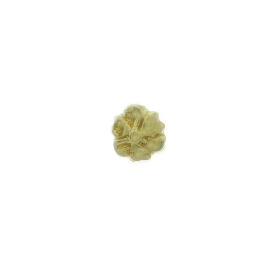 18kt Gold nose ring, 18kt Gold nose jewelry, India nose jewelry, Indian nose ring, Nose pin, Indian Nose Stud