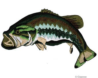 BASS FISH PATCHES