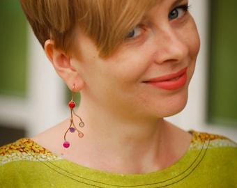 Branch earrings. Fairy earrings. Universal earrings. Nature lover. Tree earrings. Twig earrings