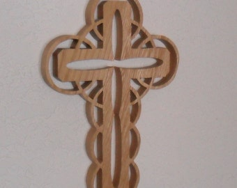 Wooden Wall Cross C10