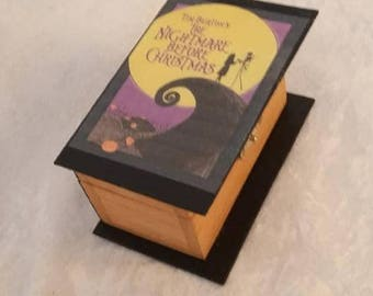 Book Ring Box, Nightmare Before Christmas, Advanced Potion Making, Pride and Prejudice, River Song's Journal, Book Proposal Box - Ring Box