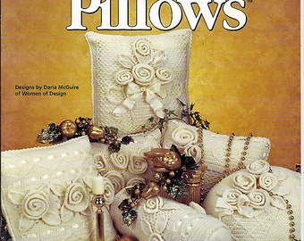 Heirloom Pillows to Crochet Pattern Book House of White Birches 101087