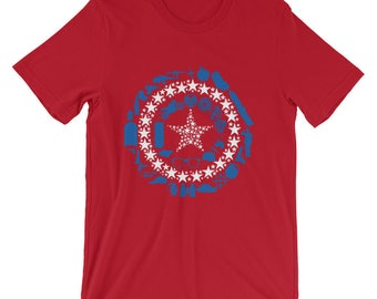 Captain America Collage T-Shirt