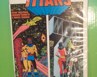 Vintage Comic Book New Teen Titans  #18  Homecoming   VF-NM Unread Condition Vintage  Comic Book - Dc Comics