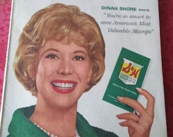 Vintage 1963 S & H Green Stamps Ideabook