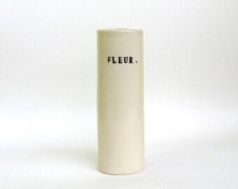fleur  ...  hand built porcelain vessel
