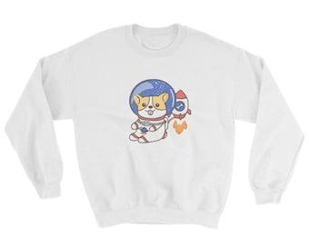 Space Corgi Crewneck Sweatshirt
