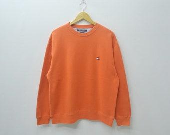 Tommy Hilfiger Sweater Vintage 90's Tommy Hilfiger Pullover Sweatshirt Tommy Hilfiger Streetswear Size S