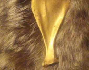 Bronzed Deer Shoulderblade
