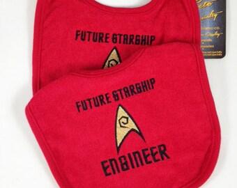 Delightful Future Starship Engineer bib