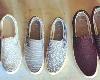 animal mix/mens slipon
