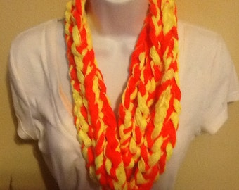 Infinity scarves, cowl necklace