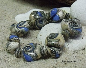 Dragon Dreams, Artisan Lampwork Glass Beads, SRA, UK