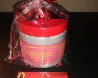 Detoxing Deep Conditioning Clay Hair Mask