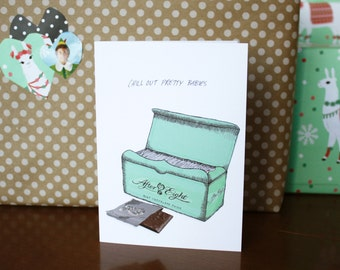 Greeting card : After Eight's.