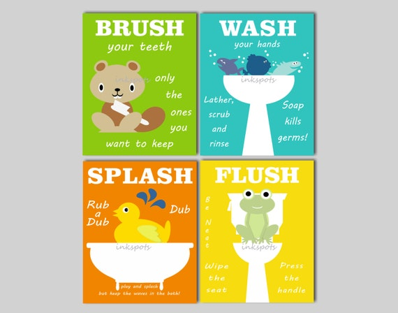 kids bathroom art kids bathroom signs rubber duck bathroom rh etsy com
