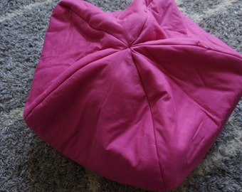 Stuffed Animal Storage Pillow (Solid Colors)
