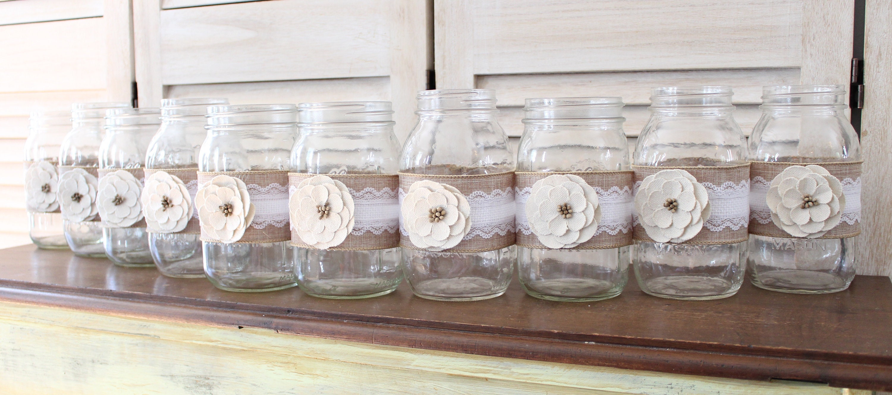 Old Fashioned Country Wedding Centerpieces Image Collection ...
