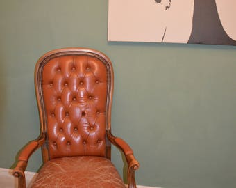Leather Chair Voltaire