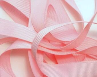 """5/8"""" Grosgrain Ribbon - Light Pink"""