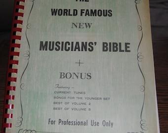 Musicians' Bible Sheet Music
