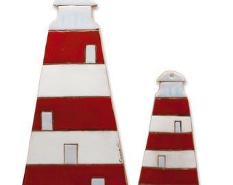 Hand-molded terracotta headlights