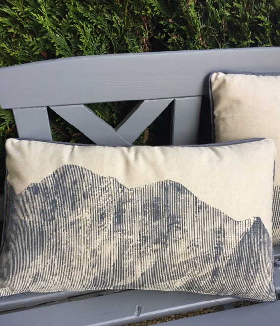 Cushion Panoramic Mont Blanc