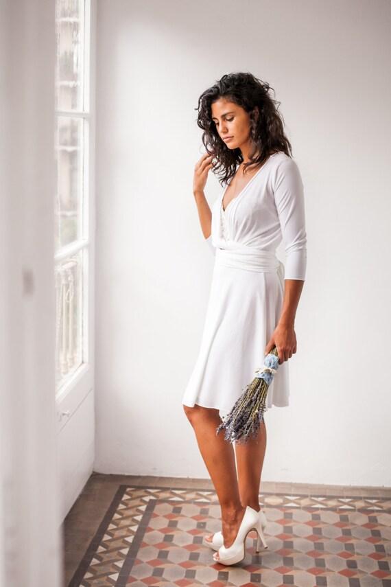 Informal wedding dress reception dress wedding dress