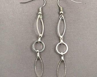 Sterling silver dangle 054