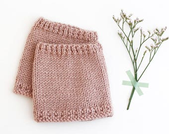 BLUSH Baby leg warmers