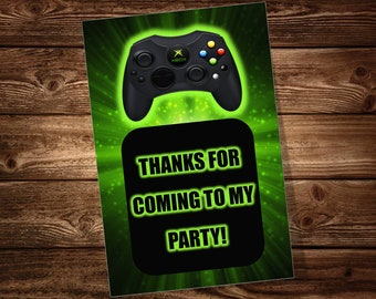 Video Game Party Favor Tags ***DIGITAL FILE ONLY***