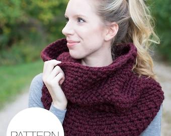 Crochet Pattern | Chain Link Armored Cowl | Crochet Vest Pattern
