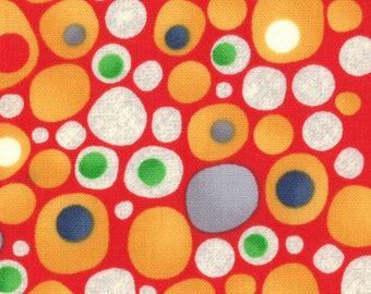 Jenn Ski Fabric, Red, Ten Little Things by Jenn Ski for Moda Fabrics, 30504-11