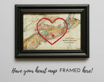 Frame your Heart Map here!