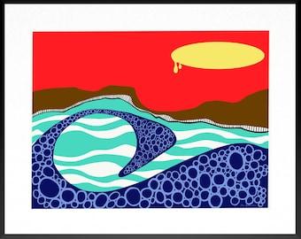 Sunrise III Print