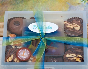 12 Piece Assorted Chocolates Sampler