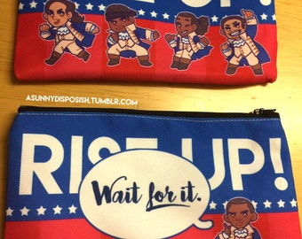 Hamilton Rise Up Zipper Pouch