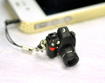 Nikon D800 DSLR Camera miniature Earphone Jack