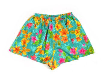 M | Victoria's Secret High Waisted Floral Tropical Shorts
