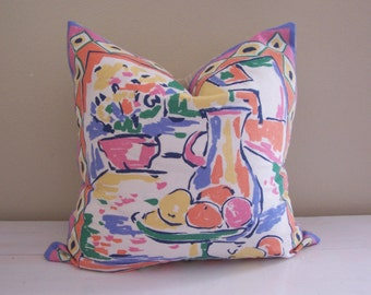 Matisse Style Still Life Pillow Cover // 16 x 16