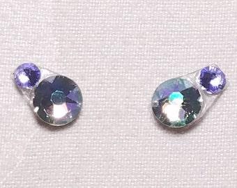Paradise Shine & Pale Purple Eye Candies ATS Tribal Fusion Bindi - 00118