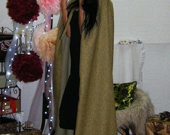 Send Color Hooded Cape Cloak