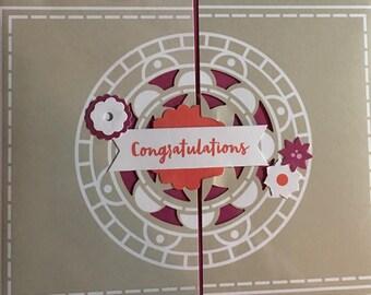 Stampin' Up Handmade Greeting Card: Congratulations