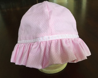 Traditional baby sun hat