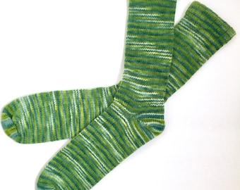 Chaussettes en laine fait main 452--taille pour hommes 11-13