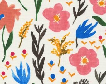 Cloud 9 Fabrics - Gather by Juliet Meeks - Daydream in White Organic