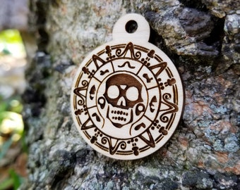 Pirates of the Caribbean Themed Dog Tag